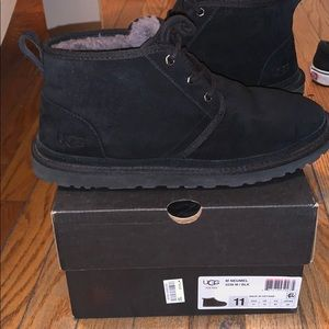 UGG Shoes - All black Uggs Neumel Boot